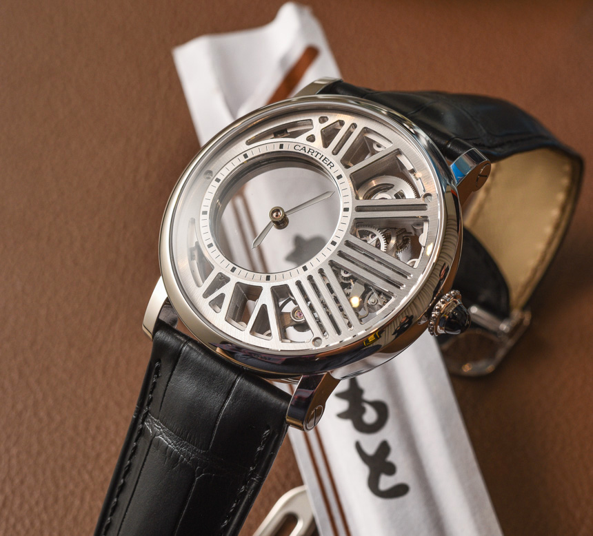 who makes cartier watch movements